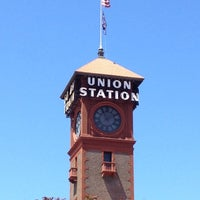 Photo taken at Union Station Amtrak (PDX) by Susan S. on 6/20/2012