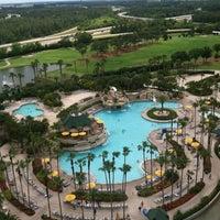 Photo taken at Orlando World Center Marriott by Mark C. on 4/21/2012