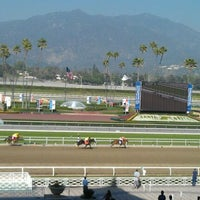 Photo taken at Santa Anita Park by Raven B. on 2/24/2012