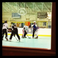 Photo taken at Water City Roller Hockey by Ashley P. on 3/22/2012