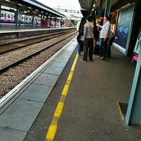 Photo taken at Upminster Railway Station (UPM) by Shu-mann G. on 8/28/2012