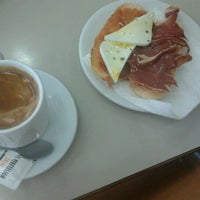 Photo taken at Cafeteria UCH CEU Luis Campos Gorríz by Pilar G. on 5/7/2012