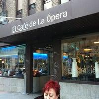 Foto tomada en El Café de la Opera por José Antonio J. el 2/25/2012