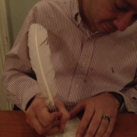 Photo taken at Comtesse Therese Bistro by Jeanette M. on 3/11/2012