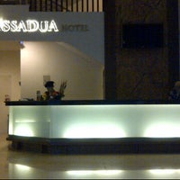 Photo taken at Cassadua Hotel Bandung by Alfons G. on 5/30/2012