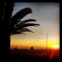 Photo taken at Sea Point Beach Promenade by James C. on 8/13/2012