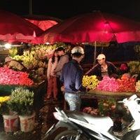 Photo taken at Chợ Hoa Nghi Tàm by Matt K. on 3/7/2012