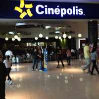 Photo taken at Cinépolis by Israel R. on 5/12/2012