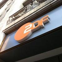 Photo taken at ZDF Hauptstadtstudio by Julian B. on 5/4/2012