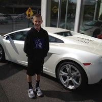 Photo taken at Maserati Auto Gallery Woodland Hills by Robert on 3/26/2012