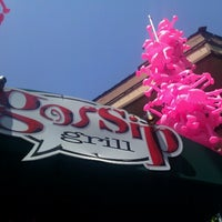 Photo taken at Gossip Grill by Leila P. on 7/21/2012