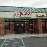 Photo taken at Yogo Factory by Lisa M. on 4/23/2012