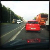 Photo taken at Шоссе Энтузиастов by Kostja Z. on 6/20/2012