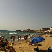 Photo taken at Playa de San José by Juan L. on 8/17/2012
