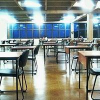 Photo taken at Biblioteca Central Prof. Alpheu da Veiga Jardim (BC) by Lorena L. on 4/26/2012