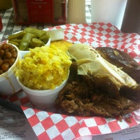 Photo taken at Hungry Harry's Famous BBQ by Denny L. on 8/30/2012