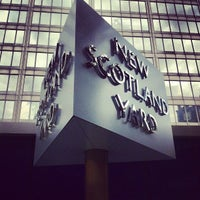 Photo taken at New Scotland Yard by sinister p. on 7/19/2012