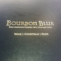 Photo taken at Bourbon Blue by Melanie on 8/13/2012