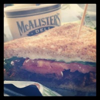Photo taken at McAlister's Deli by Christina G. on 6/20/2012