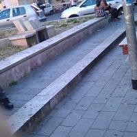 Photo taken at Piazza della Marranella by Anita B. on 6/18/2012