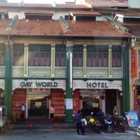 Gay world hotel