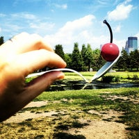 Photo taken at Minneapolis Sculpture Garden by Timothy R. on 7/13/2012