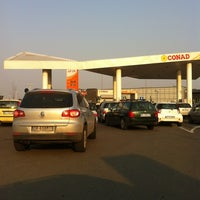 Photo taken at Distributore Conad Self 24 by Marco F. on 3/25/2012