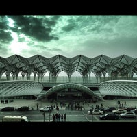 Photo taken at Gare do Oriente Train Station by Ângelo F. on 4/6/2012