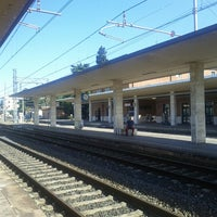 Photo taken at Stazione Faenza by Massimo Z. on 7/13/2012
