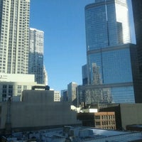 Photo taken at Hampton Inn and Suites Chicago by Johnny S. on 2/25/2012