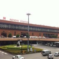 Photo taken at Shinkansen Sendai Station by Kenji U. on 8/8/2012