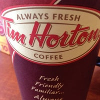 Photo taken at Tim Hortons by Dan O. on 6/22/2012