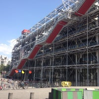 Photo taken at Place Georges Pompidou by Mihail on 8/12/2012