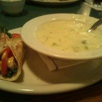 Photo taken at Olga's Kitchen by Yara K. on 9/1/2012