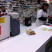 Photo taken at Farmacia La Mas Barata by SpiritX on 4/6/2012