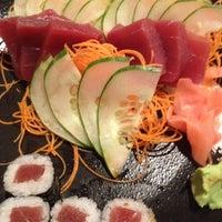 Photo taken at Wasabi Steakhouse & Sushi Bar by Aura N. on 7/31/2012
