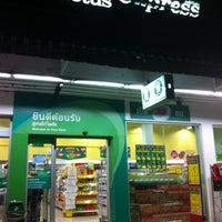 Photo taken at Tesco Lotus Express by YO S. on 8/16/2012