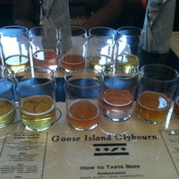 Photo taken at Goose Island Brewpub by Jason S. on 7/8/2012