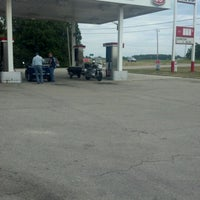 Photo taken at Conoco Gas Station by Jessica G. on 8/12/2012