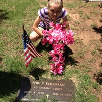 Photo taken at Resurrection Cemetery by Ashlee . on 5/28/2012
