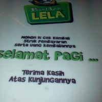 Photo taken at Pecel Lele Lela by Eka P. on 7/3/2012