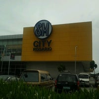 Photo taken at SM City Rosario by Mark G. on 7/30/2012