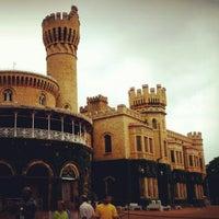 Photo taken at Bangalore Palace by Mae F. on 7/29/2012