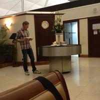 Photo taken at Emirates Lounge by Daniele F. on 3/24/2012