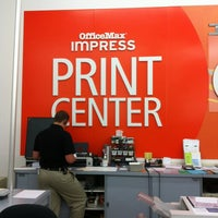 Photo taken at OfficeMax by Debra S. on 9/5/2012