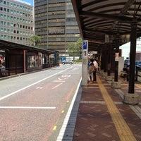 Photo taken at 横浜駅西口 バスターミナル by Junji I. on 8/26/2012