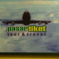 Photo taken at Pasar Tiket by HISYOM P. on 8/6/2012