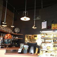 Photo taken at Open Face Sandwich Eatery by Butao C. on 4/13/2012