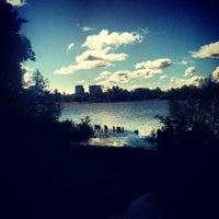 Снимок сделан в Среднее Суздальское озеро пользователем Sergey B. 9/9/2012