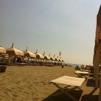 Photo taken at Bagno Patrizia by Marco T. on 6/3/2012